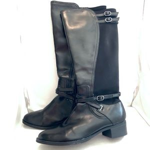 Nickels Leather Riding Boots